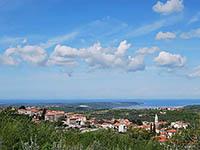 Momjan in Kroatien