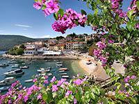 Rabac, Istrien, Kroatien