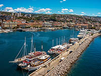 Rijeka -  Kvarner Bucht, Kroatien