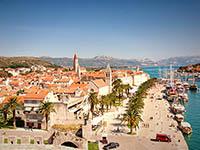 Die Promenade von Trogir