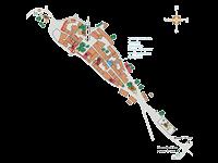 Draguc - Karte Sehenswürdigkeiten