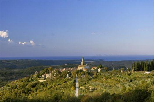 Groznjan - Zentralistrien, Istrien, Kroatien