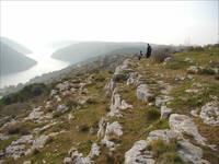Kanfanar - Wandern Limski Kanal