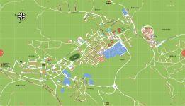 Labin Stadtplan