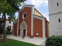 Novigrad Pfarrkirche des heiligen Pelagius und Maxim