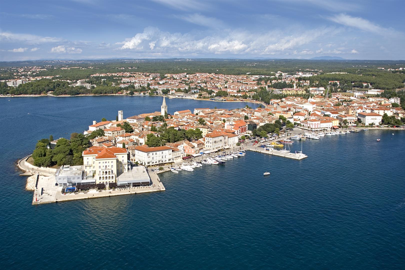 Istrien Karte Zum Ausdrucken.Porec Kroatien Reisefuhrer Kroati De