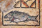 Christus Symbol - Fisch Mosaik