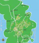 Karte von Premantura