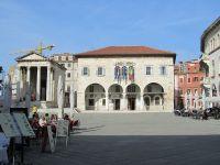 Der Hauptplatz von Pula - das Forum
