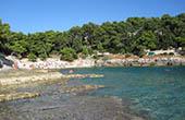 Bucht in Pula, Kroatien