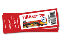 Ticket Pula City Tour