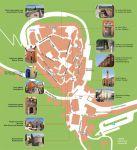 Karte Altstadt von Labin