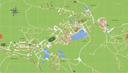 Stadtplan von Labin