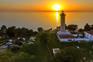 Leuchtturm & Sonnenuntergang - Savudrija