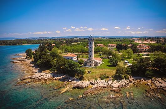Leuchtturm Savudrija, Kroatien