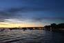Sonnenuntergang Fazana, Kroatien