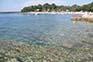Badestrand Puntizela, Stinjan, Istrien