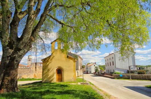 Tinjan - Istrien, Kroatien