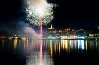 Vrsar - Fischerfest Feuerwerk