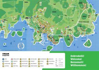 Karte Infos Vrsar
