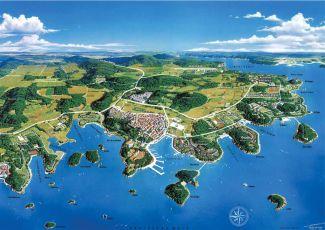 Vrsar - Karte