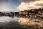 Vrsar - Panorama Ufer Hafen