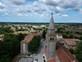 Luftaufnahme Kirche Erzengel Michael - Zminj