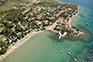 Banjol - Luftaufnahme Strand Petrac