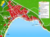 Stadtplan von Baska