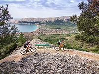 Radfahren Baska
