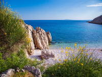 Strände Insel Krk, Stara Baska