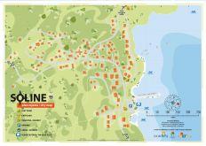 Karte Soline