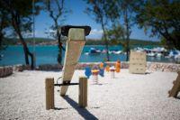 Bucht Soline - Kinderspielplatz Klimno