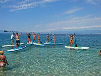 Stand up Paddling, Riviera Crikvenica