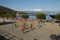 Beachvolleyball am Strand von Icici