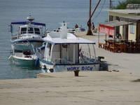 Goli Otok - Bootsanlegeplatz