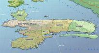 Karte - Ortsteile Insel Rab