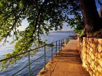 Uferpromenade Lungomare, Lovran