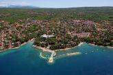 Malinska - Luftaufnahme Küste Hotel Malin