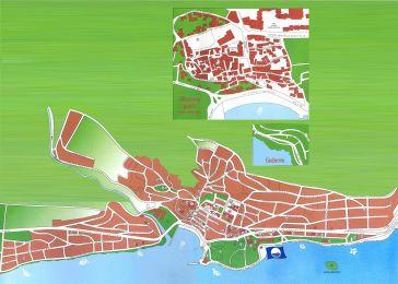 Stadtplan Novi Vinodolski