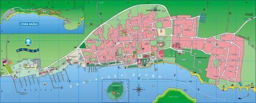 Karte - Insel Krk - Punat