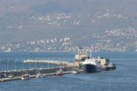 Rijeka - Molo Longo Uferpromenade