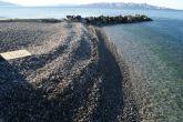 Der Strand Diga in Senj