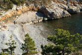 Der Strand Treca Draga bei Senj
