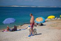 Hundestrand Punta Sila in Silo