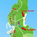 Strand Karte Silo