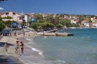 Silo - Strand Pecine - Blaue Flagge