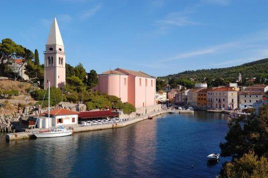 Veli Losinj, Insel Losinj, Kvarner Bucht, Kroatien