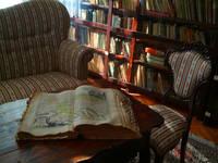 Vrbnik Stadtbibliothek der Familie Vitezic