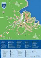 Stadtplan Vrbnik